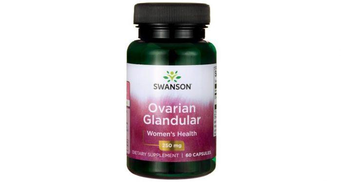 Swanson Raw Ovarian Glandular 250 mg 60 caps