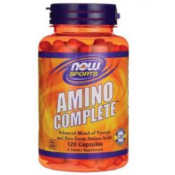 Amino Complete 120 capsules | Now