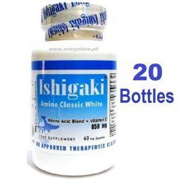 Ishigaki Amino Classic White 60 capsules 20 Bottles