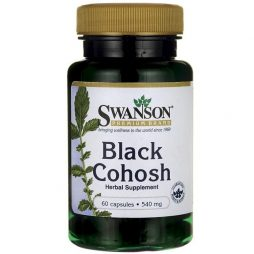 Swanson Black Cohosh 540 mg 60 capsules