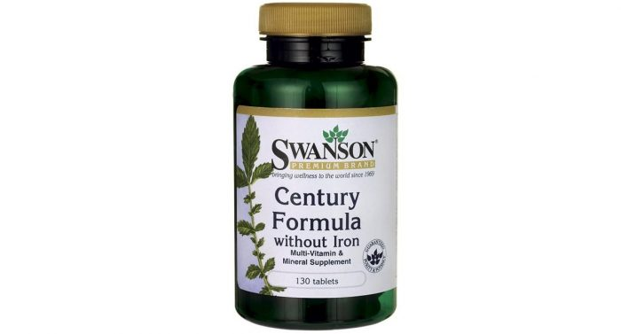 Century Formula Multivitamin No Iron 130 tabs