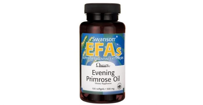 Evening Primrose Oil 500 mg 100 softgels