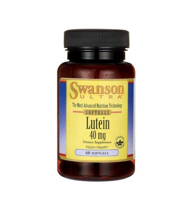 Swanson Lutein 40 mg 60 softgels