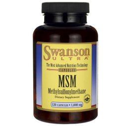MSM 1000 mg 120 capsules | Swanson