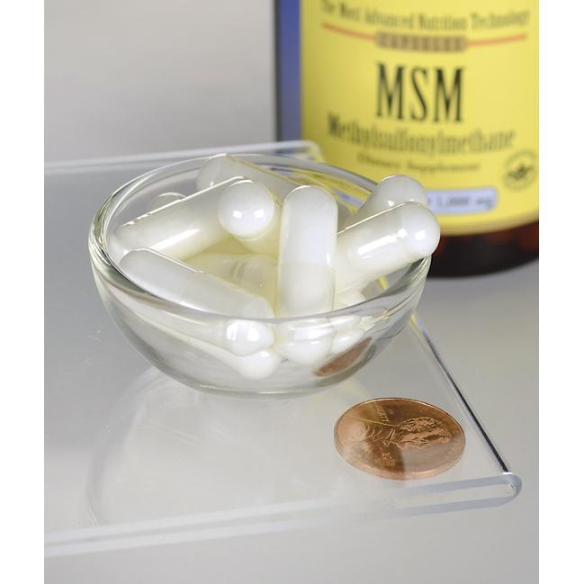 MSM 1000 mg 120 capsules   Swanson