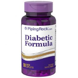 Piping Rock Diabetic Formula 90 tablets