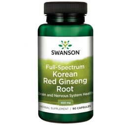 Korean Red Ginseng Root 400 mg 90 capsules