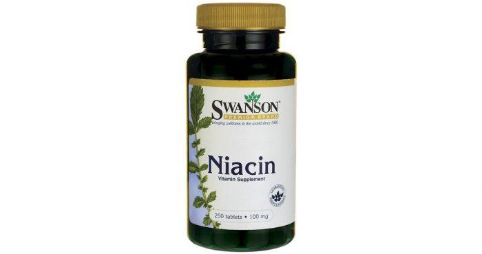 Niacin 100 mg 250 tablets