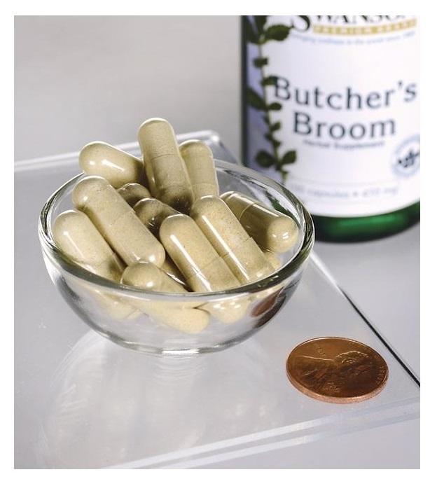 Butcher's Broom 470 mg 100 capsules