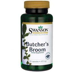 Butcher's Broom 470 mg 100 capsules