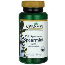 Full Spectrum Spearmint Leaf 400 mg 60 capsules