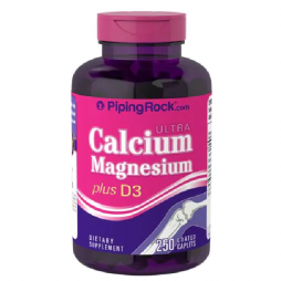 Ultra Calcium Magnesium Plus D3 250 coated caplets