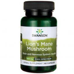 Lion's Mane Mushroom 500 mg 60 capsules