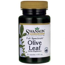 Full Spectrum Olive Leaf 400mg 60 capsules