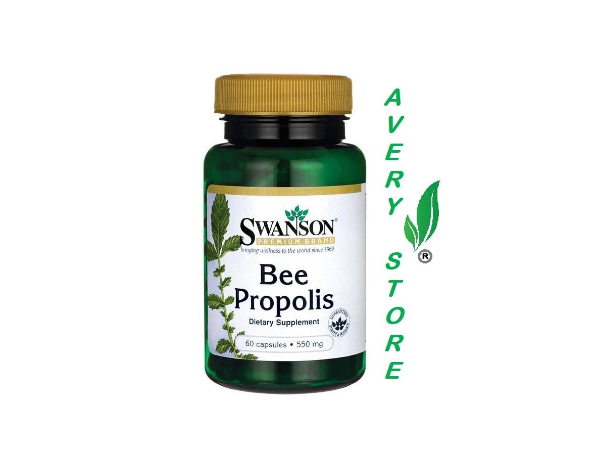 Bee Propolis 550 mg 60 capsules