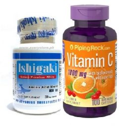 Ishigaki Premium with Vitamin C Bioflavonoids an Rosehips 1000mg
