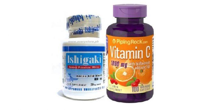 Ishigaki Premium with Vitamin C Bioflavonoids an Rosehips 500mg