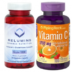Relumins with Vitamin C Bioflavonoids Rosehips 1000 mg