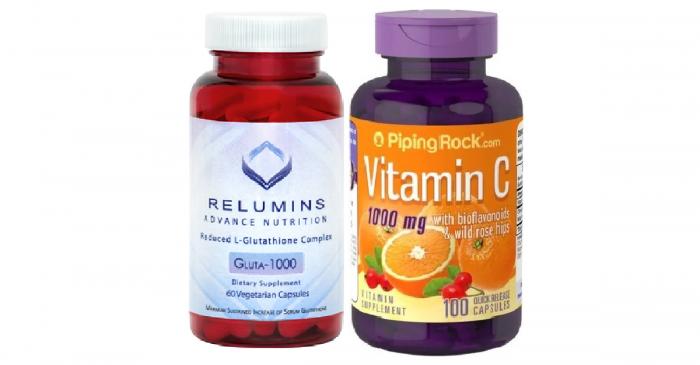 Relumins with Vitamin C Bioflavonoids Rosehips 1000 mg