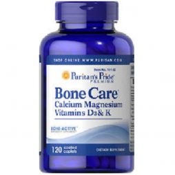 Bone Care with Calcium Magnesium Vitamin D3 and K