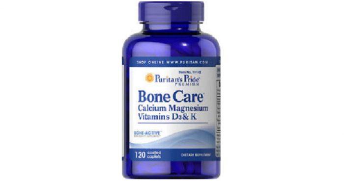 Bone Care with Calcium Magnesium Vitamin D3 and K