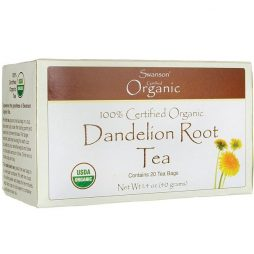 100% Certified Organic Dandelion Root Tea
