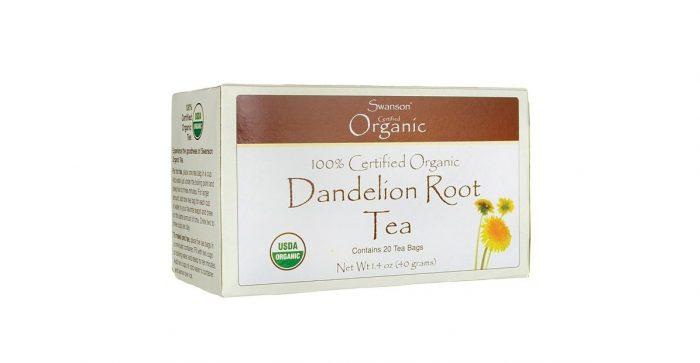100% Certified Organic Dandelion Root Tea