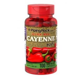 Ultra Max Cayenne Plus 870 mg 100 capsules