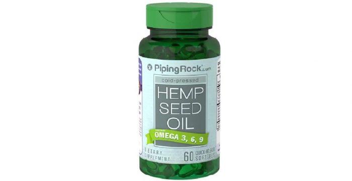 Hemp Seed Oil 700 mg 60 softgels