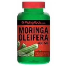 Moringa Oleifera 400 mg 120 capsules