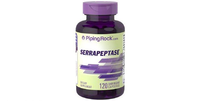Serrapeptase 120,000 SPU 120 capsules