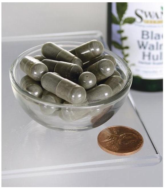 Black Wallnut Hulls 500 mg 60 caps