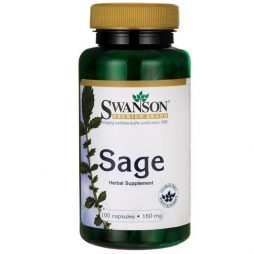 Sage Extract 160 mg 100 caps