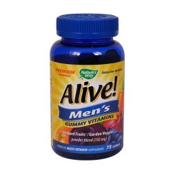 Alive Gummy Men Vitamins 75 Gummies