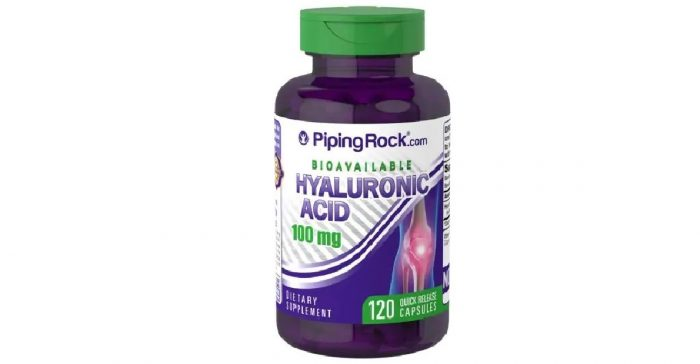 Piping Rock Hyaluronic Acid 100 mg 120 caps Rapid Release