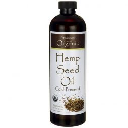 Organic Hemp Seed Oil 355 ml
