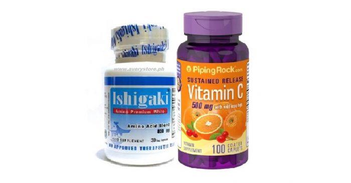 Ishigaki Premium with Sustained Release Vitamin C 500 mg