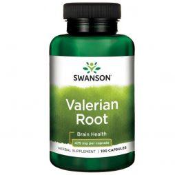 Valerian Root 475 mg 100 capsules