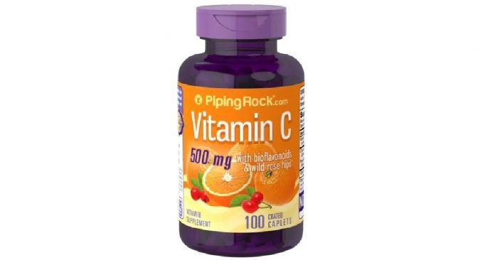 Vitamin C with Bioflavonoids Rosehips 500mg 100caps