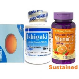 Ishigaki Classic Vit C 500mg Sustained Release and Soap