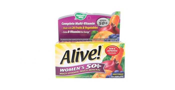 Alive Women Energy Complete Multi-Vitamin 50 tablets