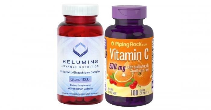 Relumins and Vitamin C Rosehips 500mg 100 caps
