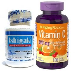 Ishigaki Premium with Vitamin C 500 mg 100 caps