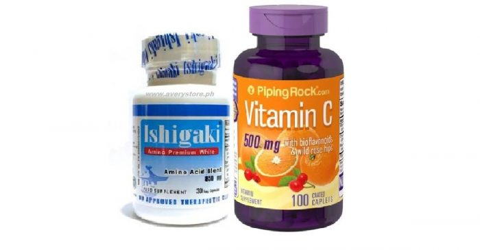 Ishigaki Premium with Vitamin C 500 mg 100 caps