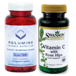 Relumins with Vitamin C Rosehips 500mg