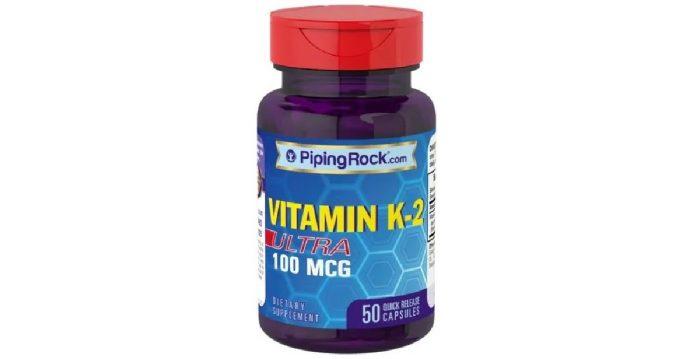 Vitamin K2 100 mcg 50 caps