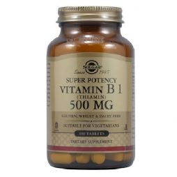 Solgar Vitamin B1 Thiamin 500 mg 100 tablets
