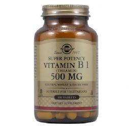 Solgar Vitamin B1 Thiamin 500 mg 100 tablets