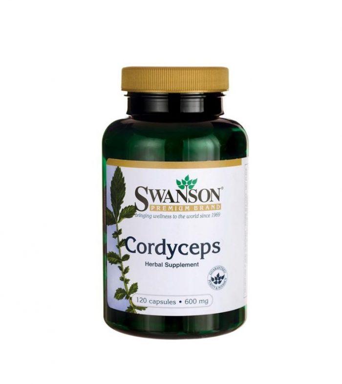 Cordyceps 600 mg 120 capsules