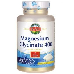 Magnesium Glycinate 400 mg 60 softgels